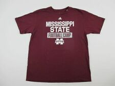 Mississippi State Bulldogs adidas Short Sleeve Shirt Men's New Multiple Sizes