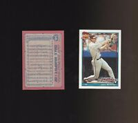 1991 Topps Glow Card Back UV Variant Baseball Card #545 Dale Murphy