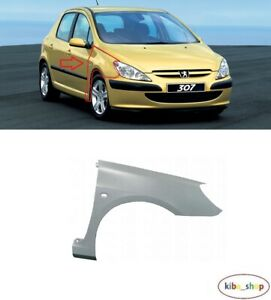 FOR PEUGEOT 307 2001 - 2005.09 NEW FRONT WING FENDER RIGHT O/S DRIVER