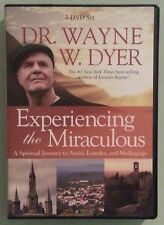 dr wayne dyer  EXPERIENCING THE MIRACULOUS    DVD 4 disc set