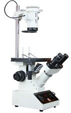 Inverted Live Cell Medical Microscope w Long Working Distance Condenser & Optics