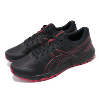 Asics Gel-Scram 5 Black Speed Red Men Trail Running Shoes Sneakers 1011A559-001