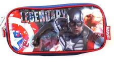 Original Marvel Captain America Pencil Case NWT FREE SHIPPING
