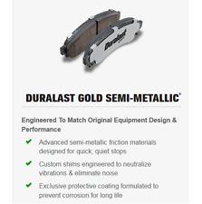 Disc Brake Pad Set Front AUTOZONE/DURALAST- MAX DGC1149M