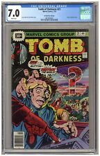 Tomb of Darkness 21 (CGC 7.0) Atomic explosion-c; 30¢ variant; Newsstand (j#6773