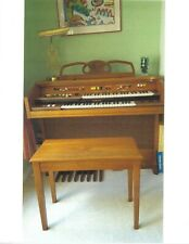electric organ/two keyboards and a foot pedal system