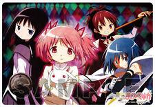 Puella Magi Madoka Magica Dark Plastic Desk Mat Anime Poster NEW