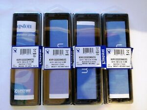 PC DDR RAM Memory Package Case Holder for DIMM Modules - lot of 4