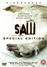 SAW - DIRECTORS CUT SPECIAL EDITION - DVD - REGION 2 UK