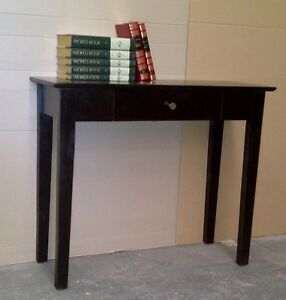 Solid Timber Hall Table