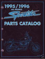 HARLEY-DAVIDSON Teilebuch Sportster 1995-1996 Teilekatalog XL XLH Buch 99451-96A
