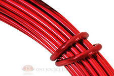 39 Ft. Red Aluminum Craft Wire 12 Gauge Jewelry Making Beading Wrapping