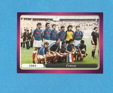 PANINI-EURO 2012-Figurina n.525- SQUADRA/TEAM - FRANCIA 1984 -NEW-DARK BOARD