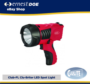 Clulite CLUB-FL Clu-Briter Flame Cree LED Spotlight Rechargeable Torch