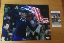 KEVIN DURANT SIGNED 11 X 14 PHOTO JSA CERTIFICATE WARRIORS NETS THUNDER TEAM USA