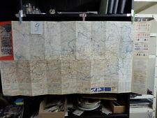 alte Landkarte ÖAMTC Straßenzustandskarte Österreich 9