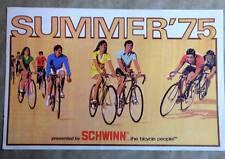 original 1975 Schwinn bicycle accessory CATALOG brochure