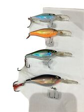 4 x Rapala  lures, Shads salmon, pike, trout, perch, pike