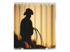 Shower Curtain – Cowboy's Silhouette