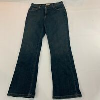 LL Bean Womens Jeans Size 6 Reg Medium Wash Outdoor Casual Hiking