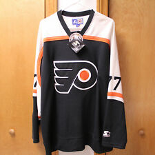 PHILADELPHIA FLYERS STARTER 77 Jersey-Paul Coffey XL NHL REPLICA HOCKEY JERSEY