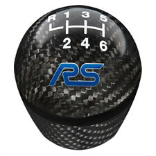 2016 2017 2018 Focus RS OEM Ford Carbon Fiber 6-speed Gear Shift Knob w/ Logo