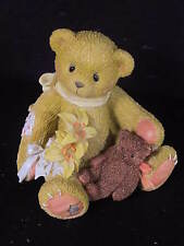 Cherished Teddies Lily Bear Lilies Bloom With Pearls of Hope Mib #202959