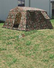 Tenda Militare modello da 6 Persone 3,4 x 3,1 metri Mimetica - COMPLETA DI TUTTO