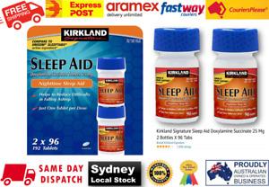 Kirkland night aid 25mg insomnia sleep supplmnt 192 tabs exp:3/2024 Free Postage