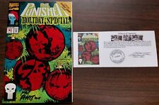 The Punisher Holiday Special (1993) #1 signed Rod Ramos with Notarized WOS