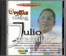 15 Pistas Para Cantar Como Julio Jaramillo Latin Music CD New
