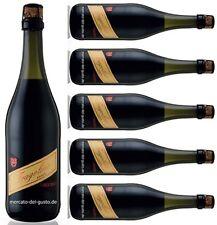 Corte Viola - Fragolino Rosso - Erdbeer-Perlwein - 6x0,75l  (6,62€/L.)-Sparkiste