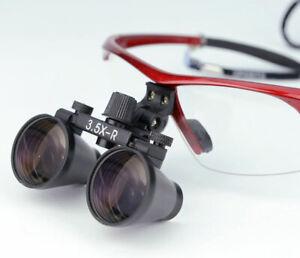 2.5X 3.5X Dental Loupe Binocular Eye Glasses Surgical Operation Magnifying Glass