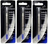 Parker Quink Rollerball Pen Refill Refill - Blue - Fine - Blister