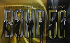 Bond 50- Celebrating 5 Decades of James Bond 007, 23 DVD-BLURAY - LIKE NEW