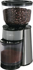 Mr. Coffee - Burr Mill Coffee Grinder - Black