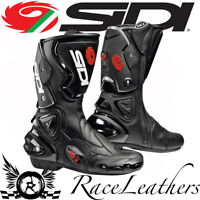 CLEARANCE CHEAP SIDI VERTIGO BLACK SPORTS TOURING MOTORCYCLE MOTORBIKE BOOTS