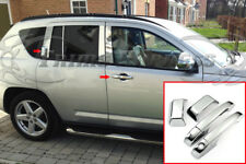 fit:2007-2016 Jeep Compass Chrome Door Handle Covers no/PSKH
