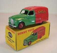 Dinky Toys England 470 Austin A40 Van Shell BP green / red MIB in OVP #6630