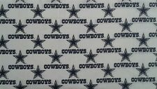 White Dallas Cowboys with stars Valance
