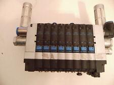 Festo Ventilinsel 18210 CPV-14-VI mit 8 Stück Ventil M 161360