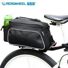 Roswheel Cycling Seat Bag Bicycle Bike Rear Rack Pack Pouch Case Pannier Black