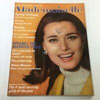 VTG Mademoiselle Magazine: January 1966 - Maren Gustafson Cover No Label