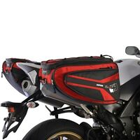 Oxford P50R Motorcycle Saddlebags Panniers RED Lifetime Luggage OL316