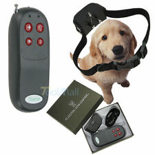 4 In 1 Remote Small/Med Dog Training Shock Vibrate Collar Trainer Safe For Pets