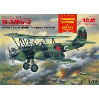 ICM 72242 - 1/72 U-2/PO-2 Soviet Multi-purpose Aircraft WWII, scale model kit
