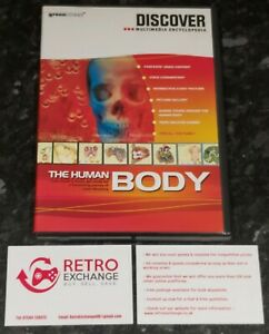 Discover Multimedia Encyclopedia - The Human Body (PC) VGC - Fast Despatch