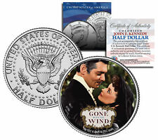"Gone with the Wind ""Embrace"" JFK Kennedy Half Dollar US Coin Officially Licensed"