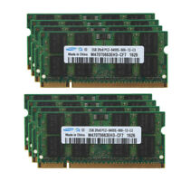 2GB 4GB 8GB 16GB DDR2 800MHz PC2-6400 For Samsung Laptop Memory SODIMM Lot