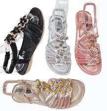 Kinderschuhe Neu Elegante Kinder Sandalen für Mädchen Schwarz Silber Rosa AB-021
